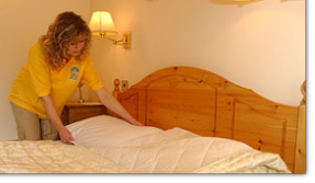 Making your bed is not a chorse for our Twickenham Domestic Cleaners